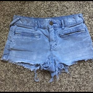 Free People Denim color Corduroy Shorts